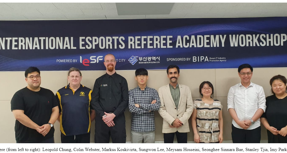 Latest Referee Workshop has just concluded.